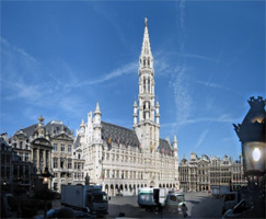 Town Hall in Brussels, Belgium